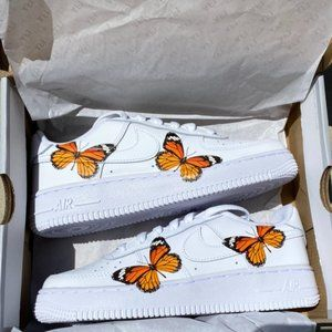 Nike Custom Air Force 1 Bright Monarch